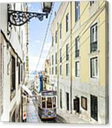 The Bica Funicular Canvas Print