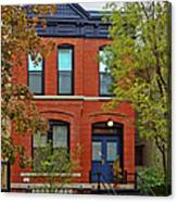 22 W Eugenie St Old Town Chicago Canvas Print