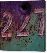 227 Canvas Print