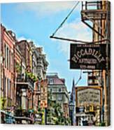228 Charters New Orleans Canvas Print