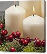 Advent Wreath Canvas Print