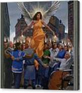 23. The Holy Spirit Arrives / From The Passion Of Christ - A Gay Vision Canvas Print