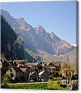 Alpine Village Canvas Print