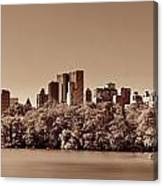 Central Park Autumn Canvas Print