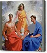 24. The Trinity / From The Passion Of Christ - A Gay Vision Canvas Print