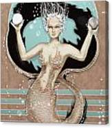 24x36 Choose Mermaid Canvas Print