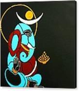 25 Varadavinayaka Ganesh Canvas Print