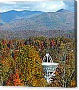 26 East And The Blueridge Panoramic Canvas Print