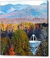 26 East Antenna And The Blueridge Canvas Print