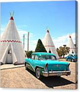 Route 66 Wigwam Motel Canvas Print