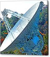 26 West Antenna Filtered Canvas Print
