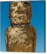 Easter Island Moai Canvas Print