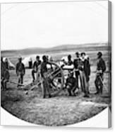 Civil War Black Troops Canvas Print