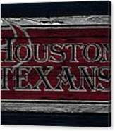 Houston Texans Canvas Print