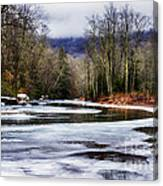 Winter Along Williams River Canvas Print