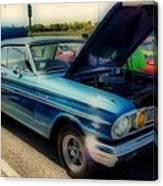 289 Ford Fairlane 500 Hdr Canvas Print