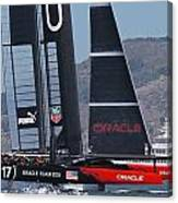 America's Cup Oracle Canvas Print