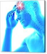 Human Headache Canvas Print