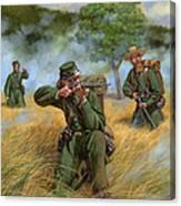 2nd United States Sharpshooters Berdan's Canvas Print
