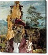 Border Terrier Art Canvas Print  Canvas Print