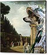 Chart Polski - Polish Greyhound Art Canvas Print Canvas Print