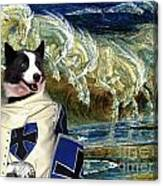 Karelian Bear Dog Art Canvas Print Canvas Print
