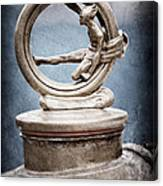 1912 Gobron-brillie 12 Cv Skiff Hood Ornament Canvas Print