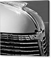 1933 Chevrolet Hood Ornament Canvas Print
