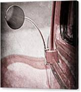 1940 Ford Deluxe Coupe Rear View Mirror Canvas Print