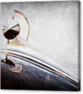 1949 Ford Hood Ornament Canvas Print