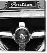 1951 Pontiac Streamliner Grille Emblem Canvas Print