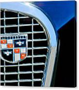 1956 Studebaker Golden Hawk Emblem Canvas Print