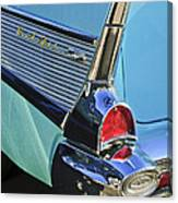 1957 Chevrolet Belair Taillight Canvas Print
