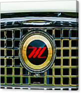 1959 Nash Metropolitan Grille Emblem Canvas Print