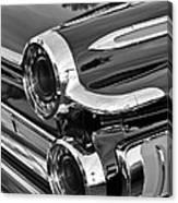 1962 Dodge Polara 500 Taillights Canvas Print