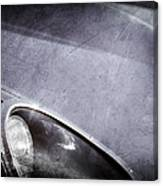 1963 Jaguar Xke Roadster Headlight Canvas Print