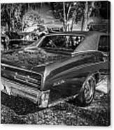 1967 Pontiac Gto Bw Canvas Print