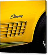 1971 Chevrolet Corvette Stingray Canvas Print