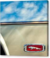 1995 Jaguar Emblem Canvas Print