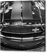 2008 Ford Shelby Mustang Gt500 Kr Painted Bw  Canvas Print