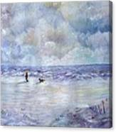 34th St. Beach Canvas Print