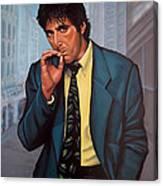 Al Pacino 2 Canvas Print