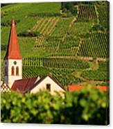 Alsace Church Canvas Print