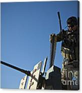 An Afghan National Army Soldier Canvas Print