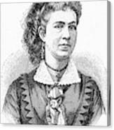 Ann Eliza Young (1844-1925) Canvas Print