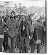 Anti-war Protest, 1971 Canvas Print