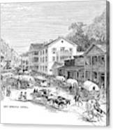 Arkansas Hot Springs Canvas Print