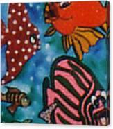 Art Fish Canvas Print