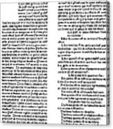 Avicenna (980-1037) Canvas Print