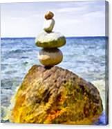 Balanced Canvas Print